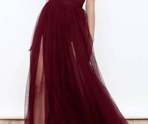 dress and burgundy prom dresses image