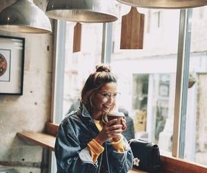 zoella, zoe sugg, and coffee image