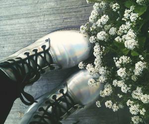 flower, grunge, and vintage image