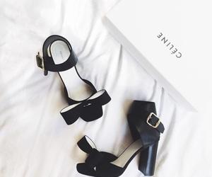 shoes, celine, and black image