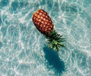 pineapple and sea image