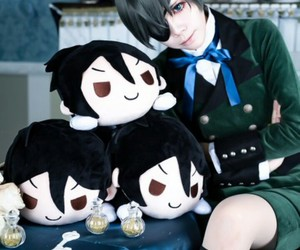 beautiful, black butler, and cosplay image