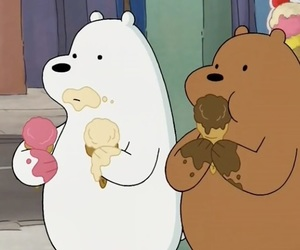 bear, cute, and cartoon image
