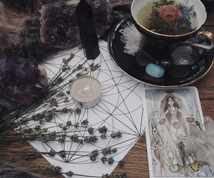 witch, tarot, and magic image
