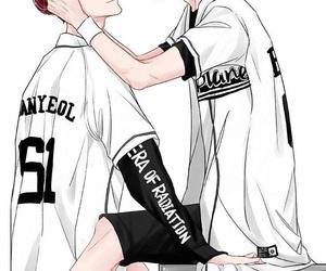 exo, chanbaek, and chanyeol image