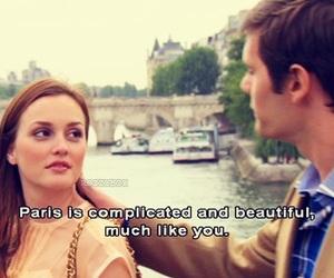 gossip girl, paris, and love image