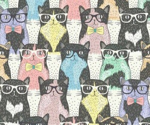 cats, background, and wallpaper image