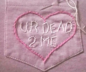 pink, dead, and pastel image