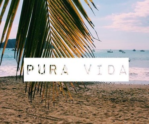 background, beach, and costa rica image