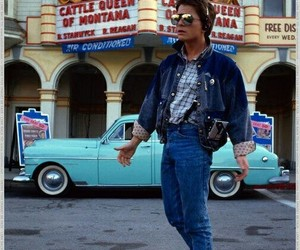 Back to the Future and movie image