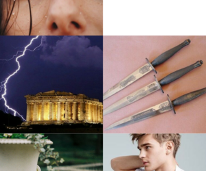 aesthetic, los heroes del olimpo, and rick riordan image