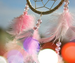 dreamcatcher, Dream, and pink image