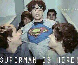 superman, liam payne, and zayn malik image