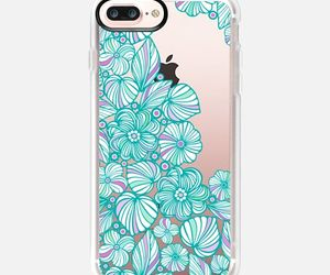 aqua, phonecover, and iphone7 image