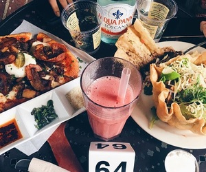 delicious, drink, and food image