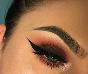 makeup, eye makeup, and eyes image