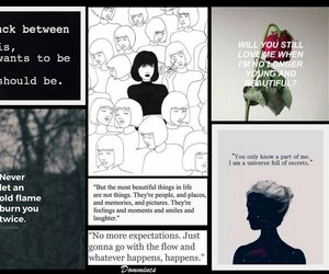 Collage, madness, and poetry image