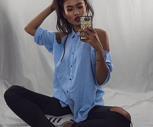 adidas, girl, and model image