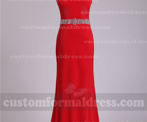 prom dresses, long red evening dresses, and long red prom dresses image