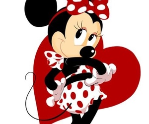 background, minnie mouse, and disney image