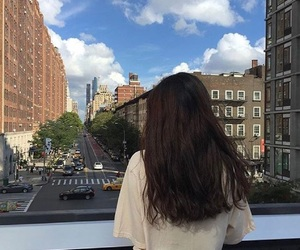 girl, ulzzang, and city image