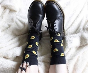 black, eggs, and shoes image