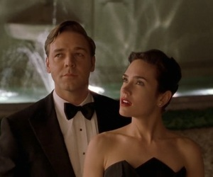 a beautiful mind, Russel Crowe, and jennifer connelly image