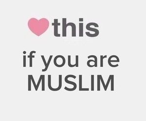 muslim, islam, and heart image