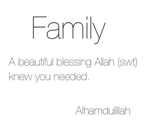 allah, islam, and family image