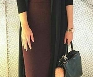 fashion, modest fashion, and hijabista image