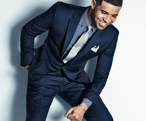 Drake, suit, and drizzy image