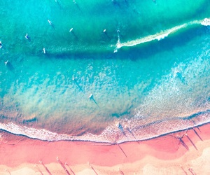 above, beachfront, and bright image