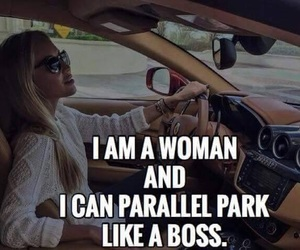 boss, lady, and car image