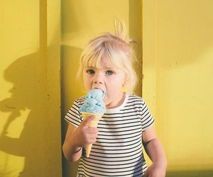 baby, blondy, and blue eyes image