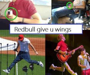 niall horan, one direction, and redbull image