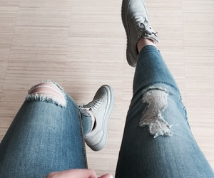 in love, jeans, and new image