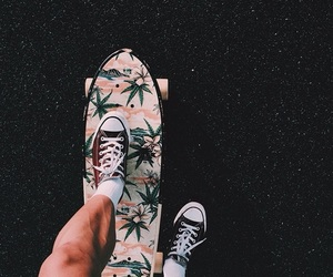skate, converse, and shoes image