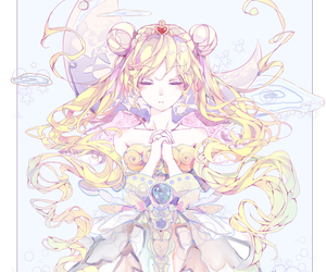 anime, sailor moon, and fanart image