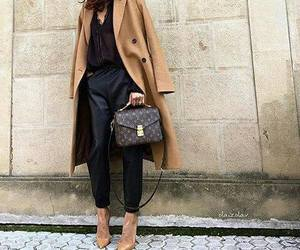 coat, fashion, and outfit image