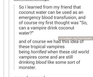 blood, quote, and vampire image