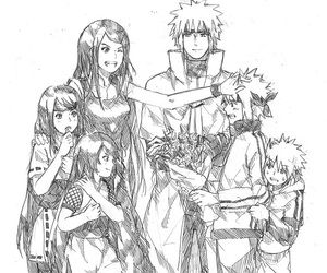 minato, naruto, and kushina image