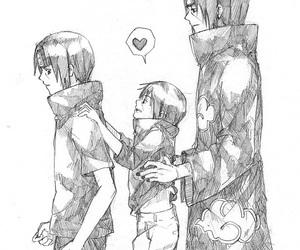 itachi, naruto, and anime image