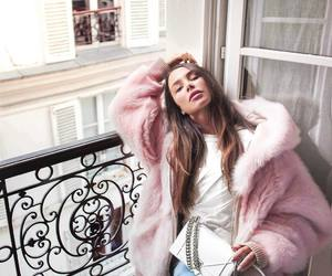 fur, pink, and love image
