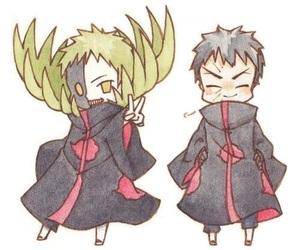 akatsuki, tobi, and zetsu image