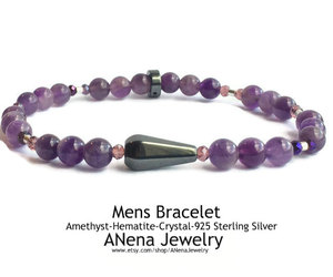 amethyst, anenajewelry, and crystal image