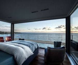 bedroom, home, and sea image