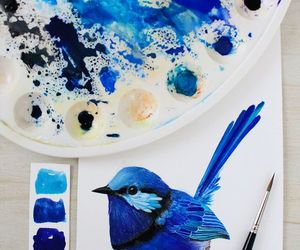 bird, animals, and art image
