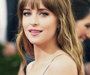 dakota johnson, fifty shades of grey, and hair image
