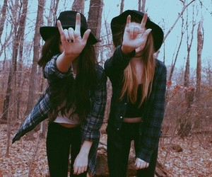 friends, grunge, and rock image