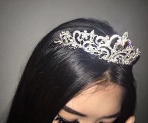 girl, princess, and crown image